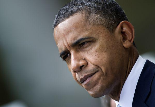US President Barack Obama speaks from th