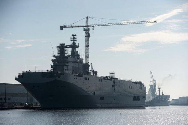 Кремль: Франция полностью перечислила неустойку по «Мистралям»