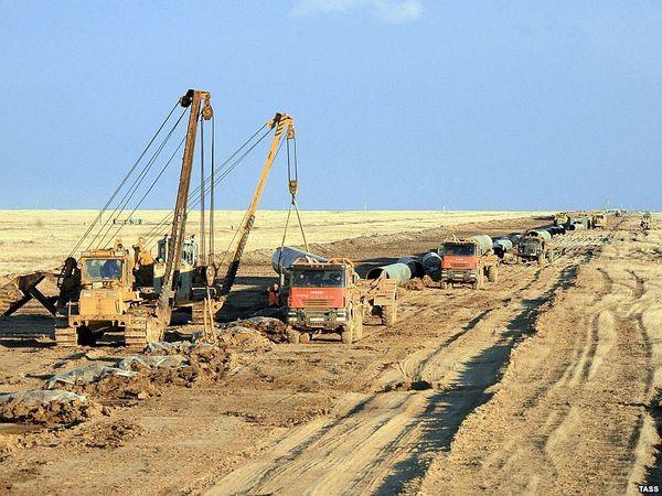 Туркменистан завершает строительство газопровода Восток-Запад